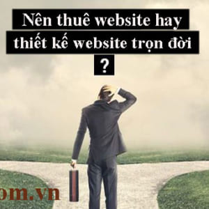 Nên Thuê Website Theo Tháng Hay Thiết Kế Website Trọn đời Sẽ Hiệu Quả Hơn